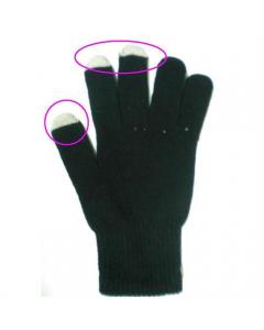Fingervante touch svart 3-pack
