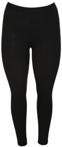 Grovstickad leggings