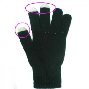 Fingervante touch svart