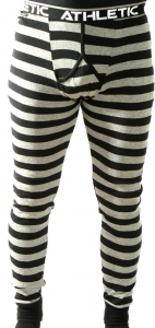 Långkalsong black stripe