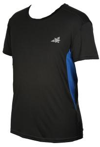 T-shirt träning blå herr