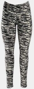 Legging svart,vit