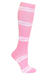 Stödstrumpa pink