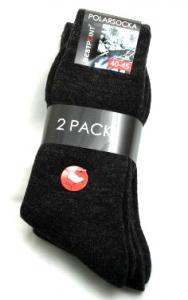 Polar stor svart 2-pack