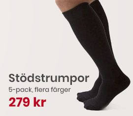 Stödstrumpor Fly and Care 5-pack