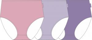 Maxitrosor 3-pack färger