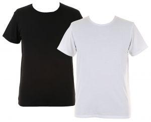 T-shirt u-hals