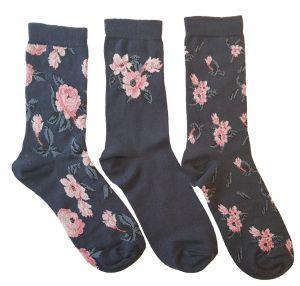 Lös resår 3-pack blommor